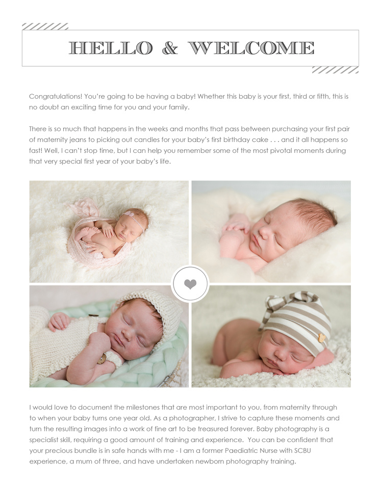 Hannah merrett photography maternity newborn watch me grow sessions package information